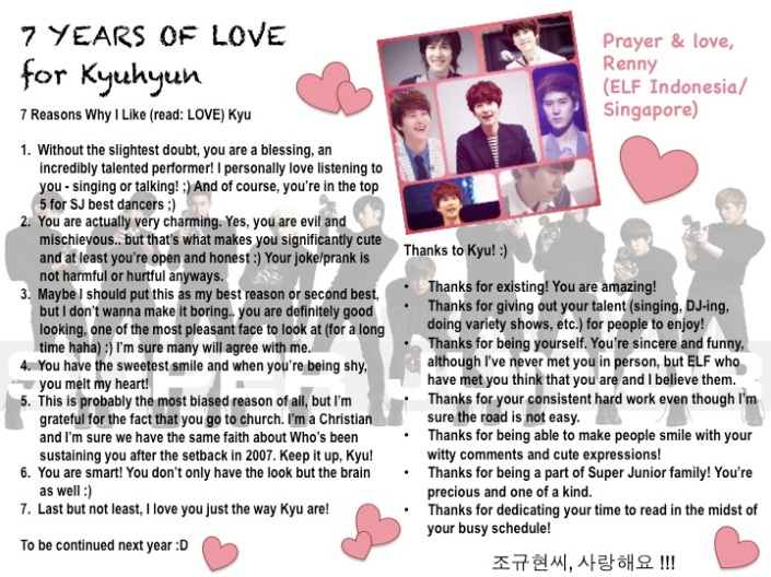 7 Years of Love for Kyu