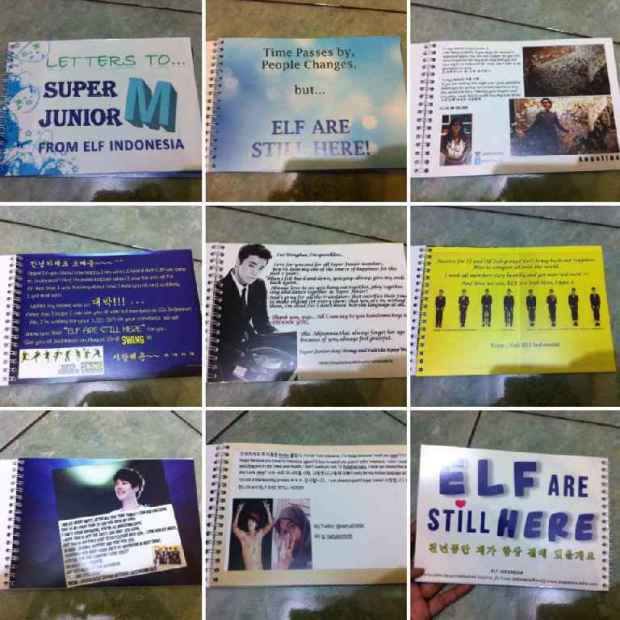 "Wishing Book ""Letters to Super Junior M From ELF Indonesia"""