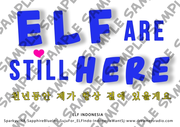 handbanner elf are still here SAMPLE