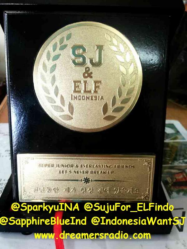 Plakat Super Junior + ELF Indonesia