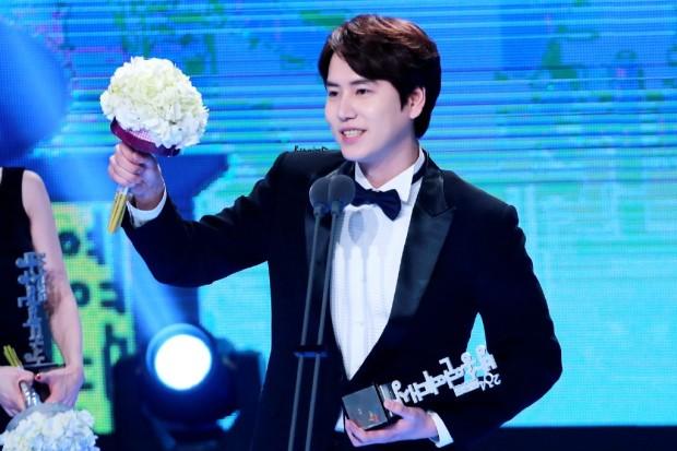 141229 MBC Ent Award Kyuhyun (1)