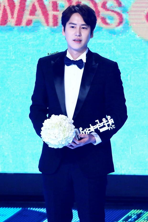 141229 MBC Ent Award Kyuhyun (8)