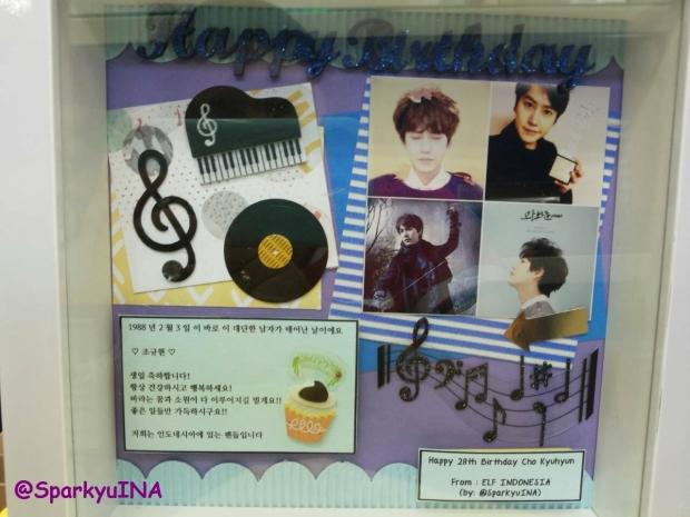 Scrap-frame for Kyuhyun