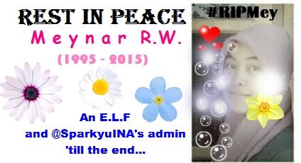 Rest in Peace Meynar Rizki (1995 - 2015) #RIPMey