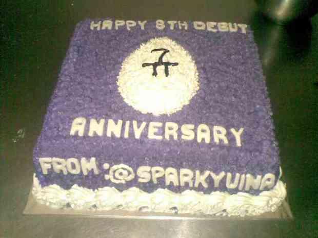 "Cake ""Kyuhyun's 8th Debut Anniversary"""